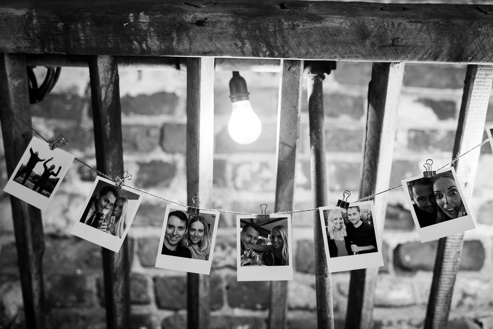 Photo bunting at The Normans. Photo by www.timdunk.com