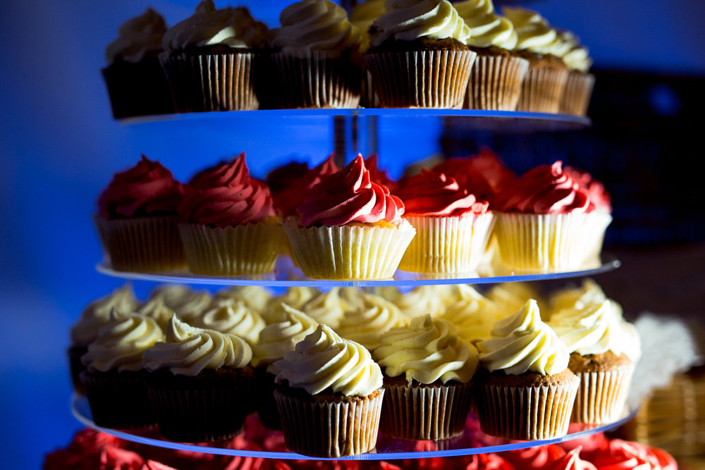 Cupcake Tower at The Normans. Photo by www.timdunk.com