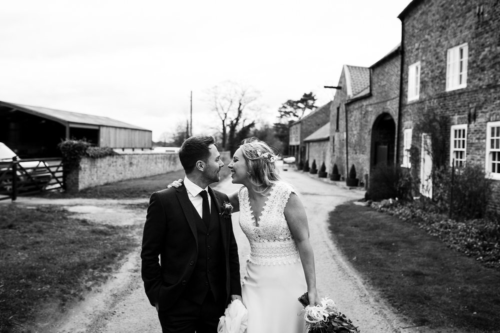 Newlywed at The Normans. Photo by www.timdunk.com