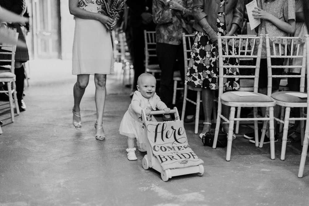 Best ever Flower Girl at The Normans Photo by www.nataliepluck.com