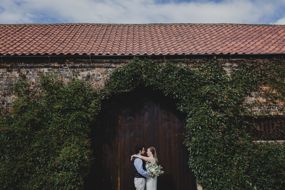 Newlyweds at The Normans Photo by Kate Gray Photography.jpg