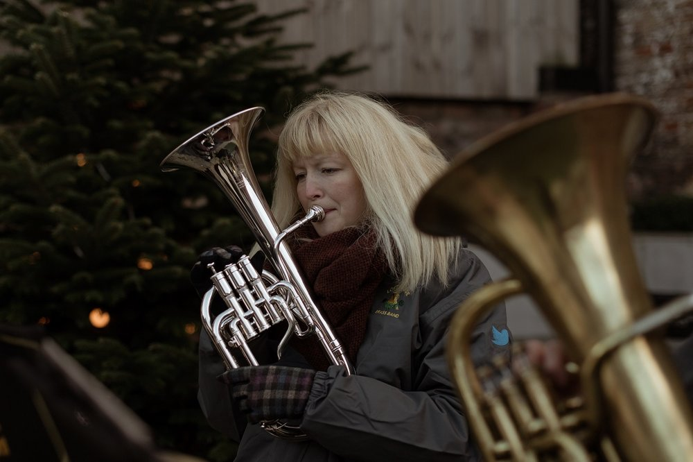 Festive tunes at The Normans Photo by Luke Bell Photography.