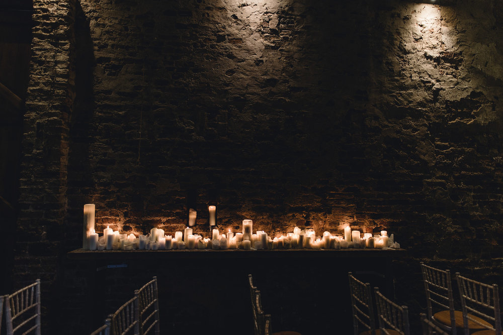 Wed by candlelight at The Normans. Photo by www.alexandraholtphotography.com