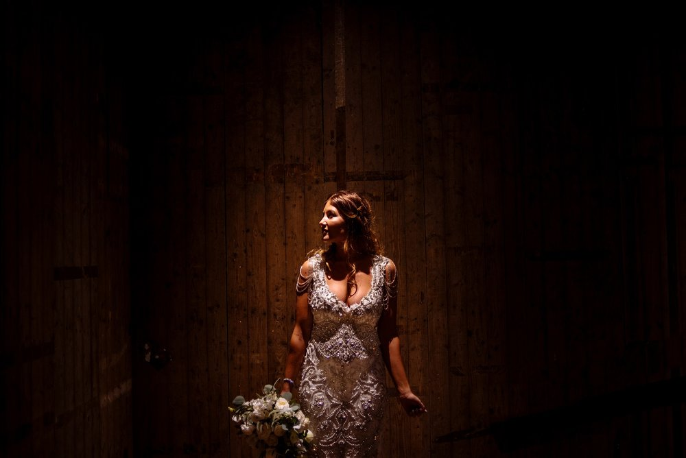 Bride Becci at The Normans Photo by Toast