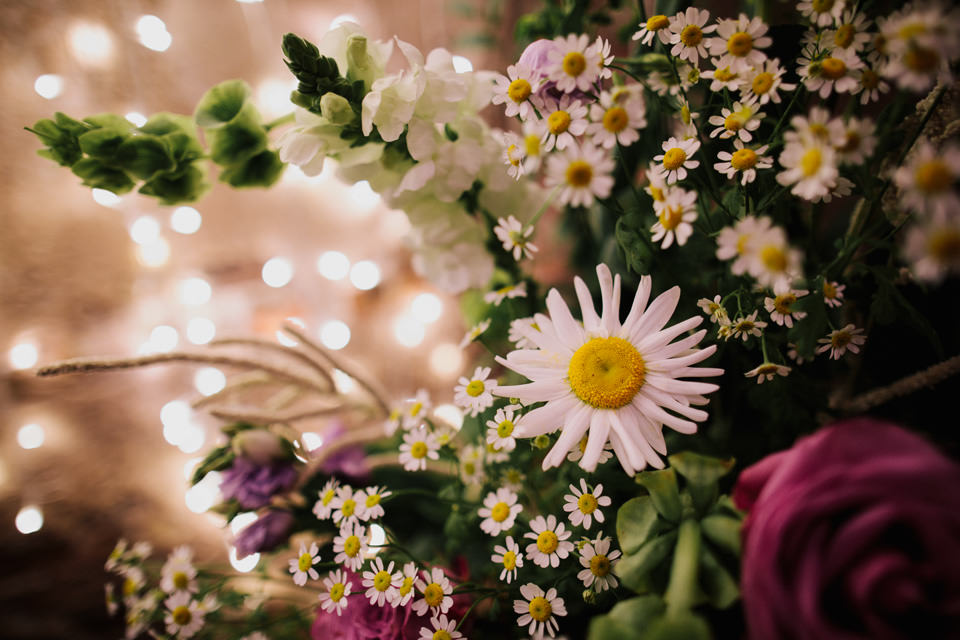 Wedding flora at The Normans Photo by CJ Rodgers Photography