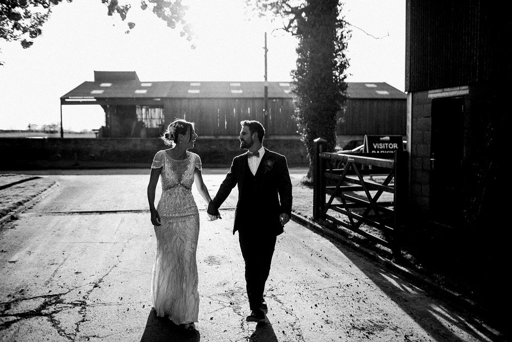 Rachel & Matt at The Normans Photo by www.throughthewoodsweran.co.uk