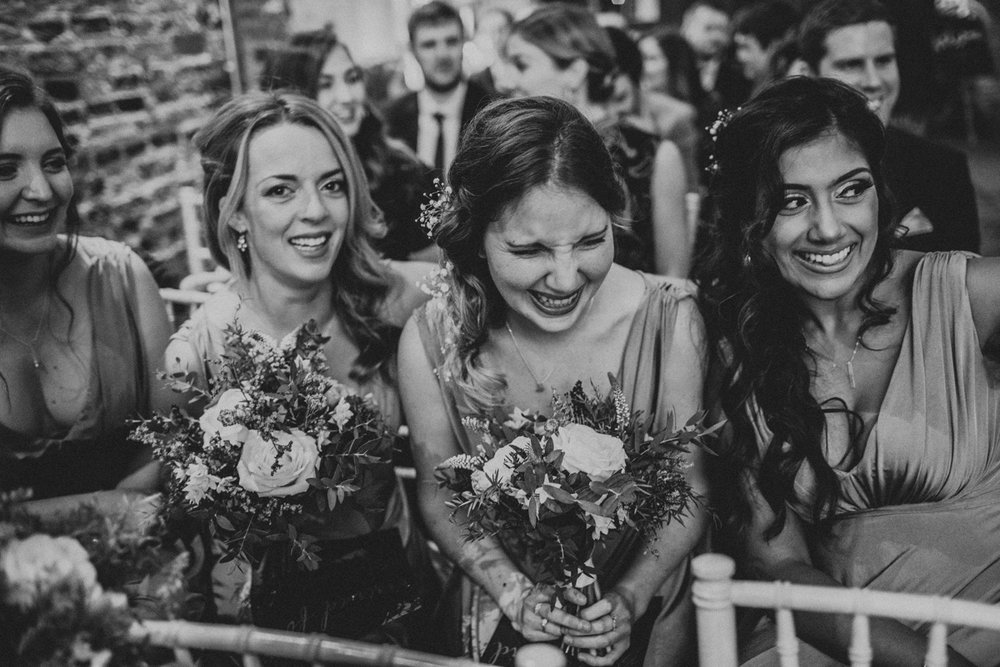 Happy bridesmaids at The Normans.jpg