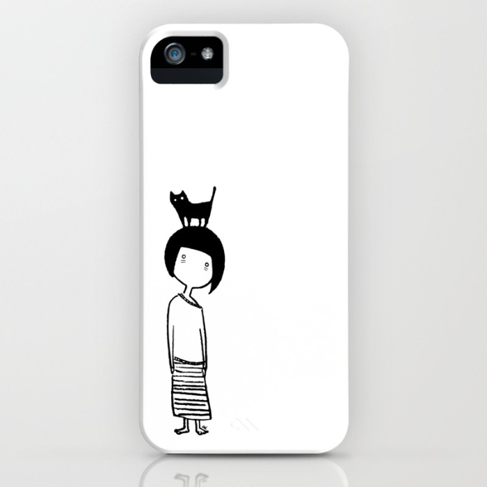 Insomniac Cat Lady - Phone Case