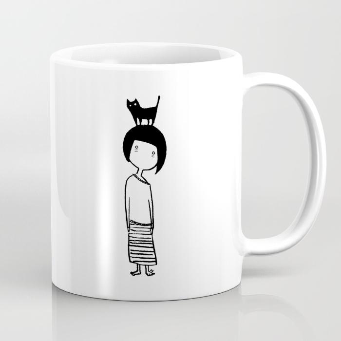Insomniac Cat Lady - Mug