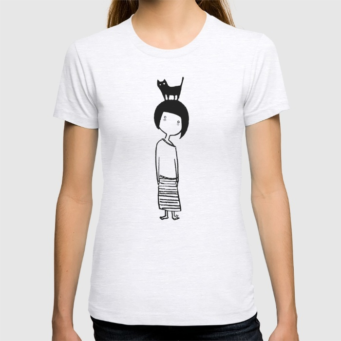 Insomniac Cat Lady - T-Shirts