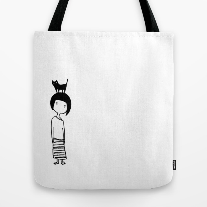 Insomniac Cat Lady - Tote Bag