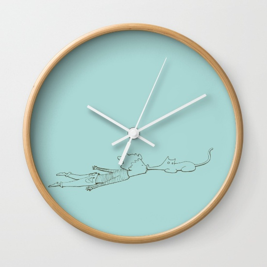 Enyaugh! - Wall Clock