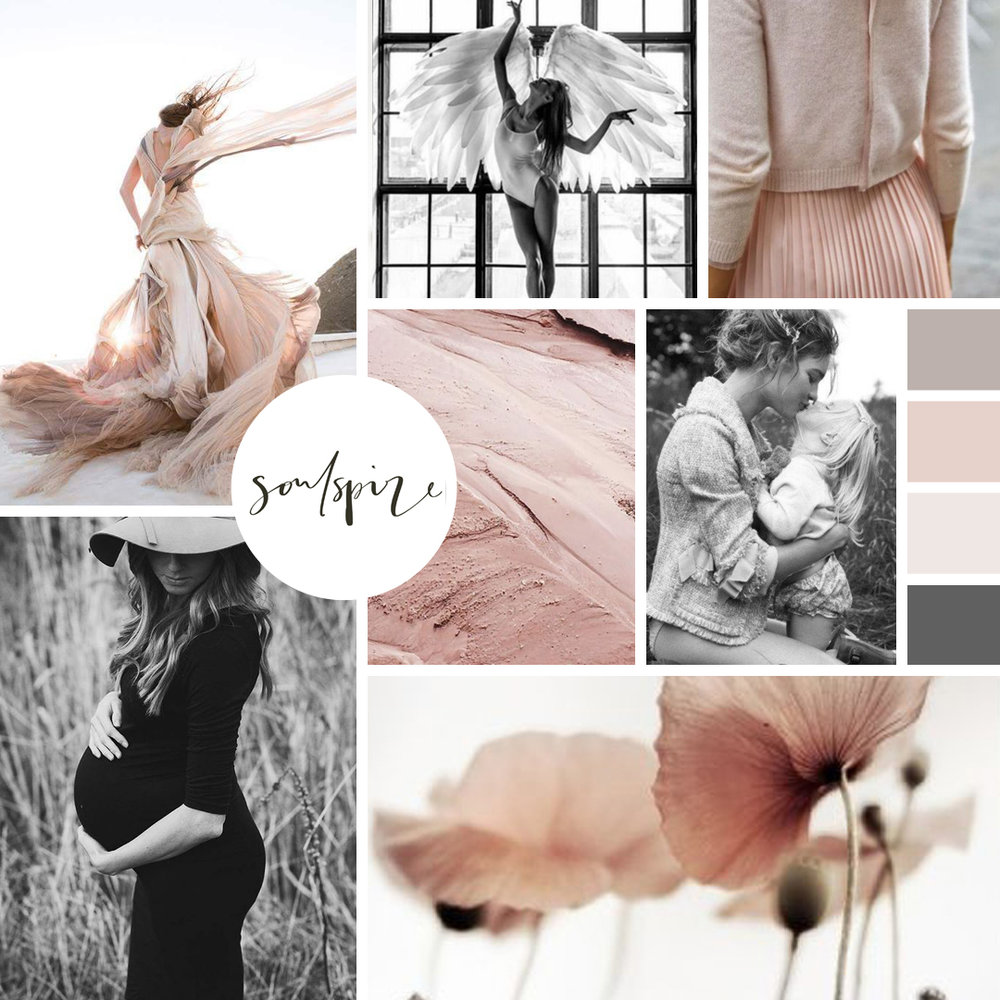 02. - YOUR BRAND STYLE MOODBOARD.I will translate your vision into a Brand Style Moodboard that will form the basis of your new site and your online brand. You can use your Brand Style Moodboard across all of your brand assets including social media.