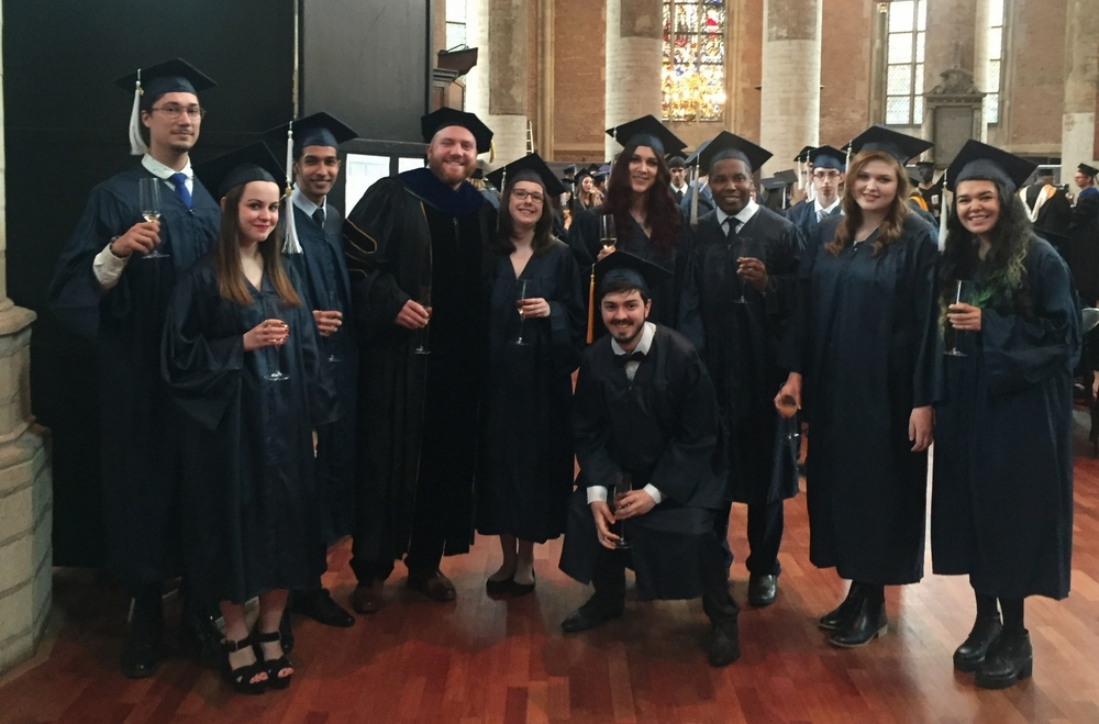 Media Communications Graduates Class of 2016    |    Webster University, the Netherlands