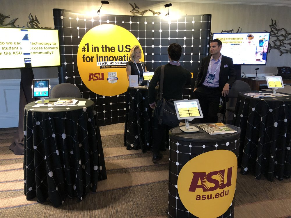 ASU Booth at ASU+GSV Summit 2018