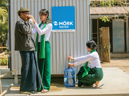 Bringing clean water where it's needed most