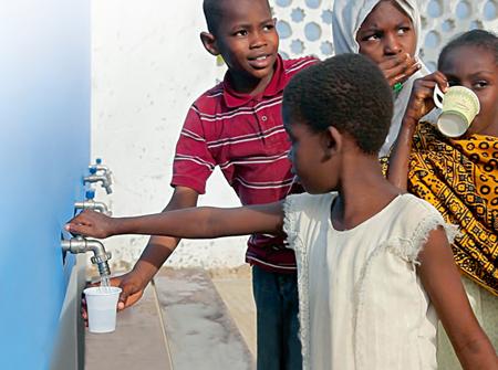 Moerk Water brings clean water to remote villages