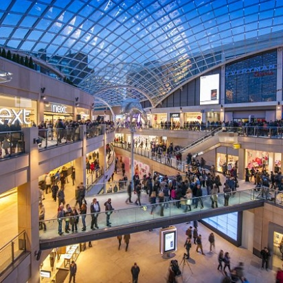 BEST SHOPPING: TRINITY LEEDS, LEEDS STAY DRY AMONGST ALL OF YOUR FAVOURITE SHOPS & ONLY A STONE'S THROW FROM THE HIGH STREET.