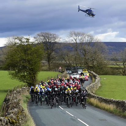 BEST SPORTING EVENT: TOUR DE YORKSHIRE WE'VE ALL GONE CYCLING MAD & THIS EVENT TAKES YOU ON A TOUR OF YORKSHIRE'S BEST ROUTES.