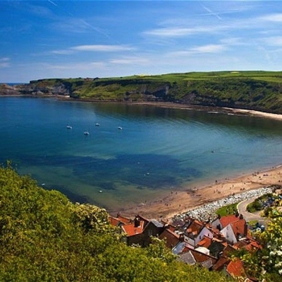 BEST BEACH: RUNSWICK BAY, NORTH YORKSHIRE GOLDEN SANDS & CLEAN BLUE WATER SURROUNDED BY ROLLING GREEN HILLS. BRING ON THE SUMMER.