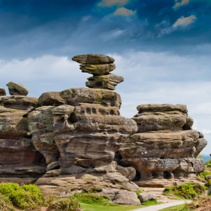 BEST OUTDOORS: BRIMHAM ROCKS, NR. HARROGATE AWE-INSPIRING NATURAL ROCK FORMATIONS PERFECT FOR EXPLORING, PLUS THE KIOSK SELLS AMAZING PIES.
