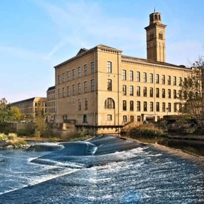 BEST INDOOR DESTINATION: SALTS MILL, SALTAIRE 4 FLOORS OF LOVELINESS INCLUDING A BOOK SHOP, CAFE, GALLERIES, HOMEWARE SHOPS & VINTAGE FINDS.