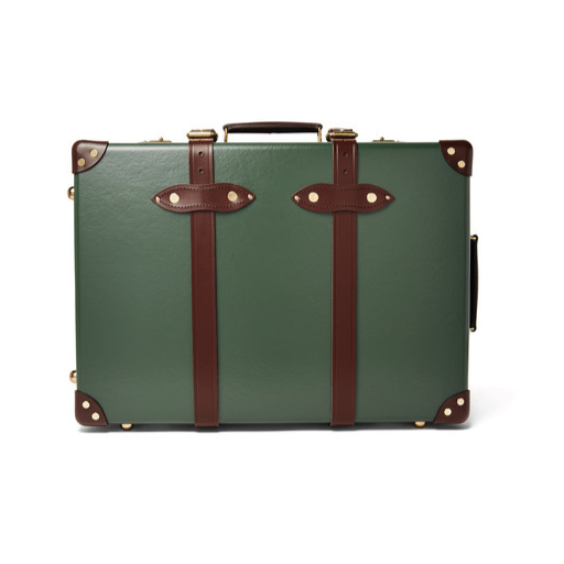 LEATHER TROLLEY CASE BY GLOBE TROTTER | £1215 TRAVEL IN SERIOUS STYLE.