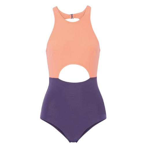 SWIMSUIT BY FLAGPOLE SWIM | £265 MAKE A SPLASH IN THIS COOL COLOUR BLOCK.