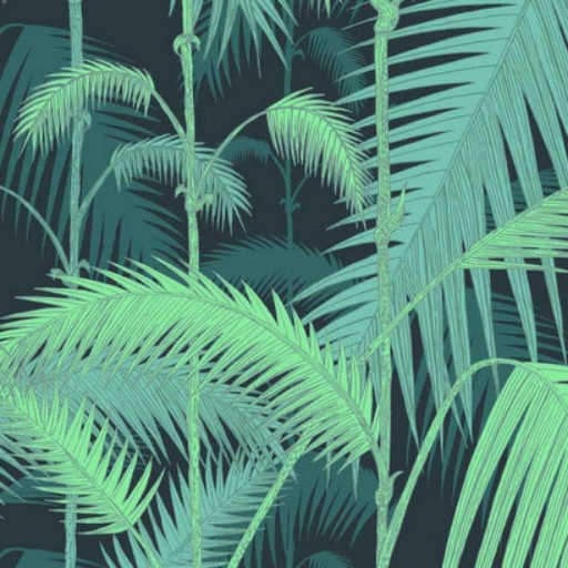 COLE & SON PALM JUNGLE WALLPAPER | £82 IF WE CAN'T GO, THE AMAZON SHALL COME TO US.
