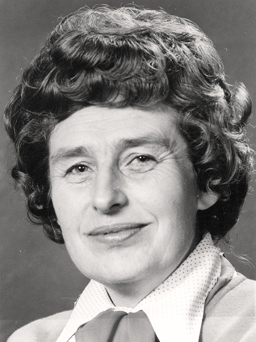 Berit Ås, partileder for SV 1975-1976