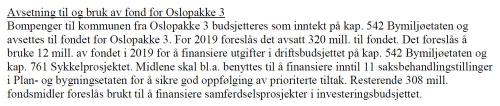 DETTE STÅR I BUDSJETTET.