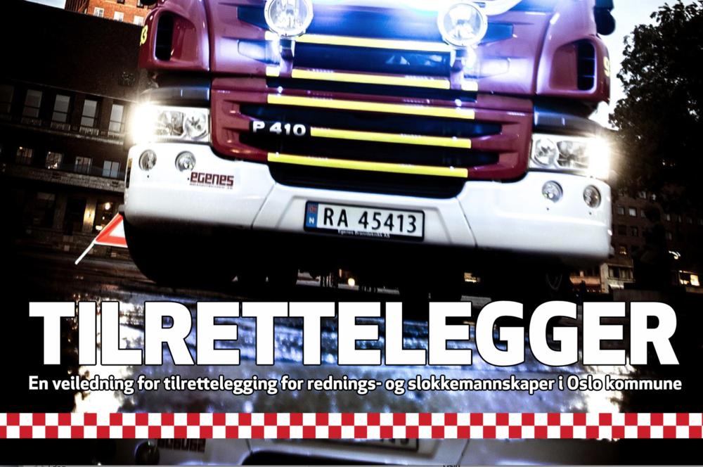 Brannsjefen i Oslo sendte til og med dette dokumentet når han advarte Raymond Johansen mot mulige konsekvenser av bilfritt byliv.