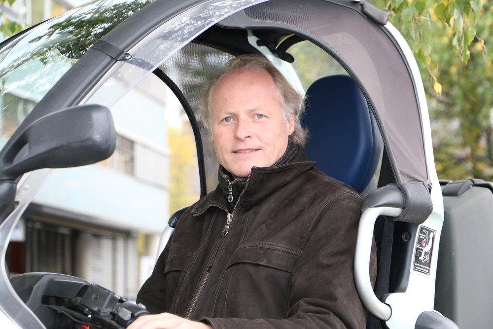 Generalsekretær i KNA Børre Skiaker
