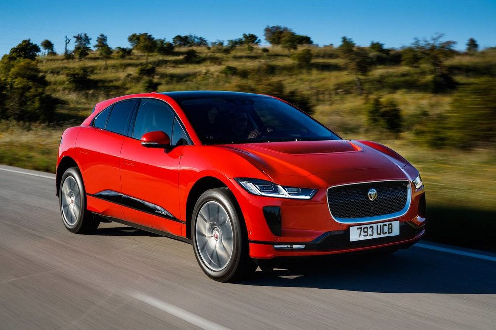 Her er den nye bilen til Berg & Johansen. Jaguaren er kåret til den tredje mest luksuriøse bilen i verden.