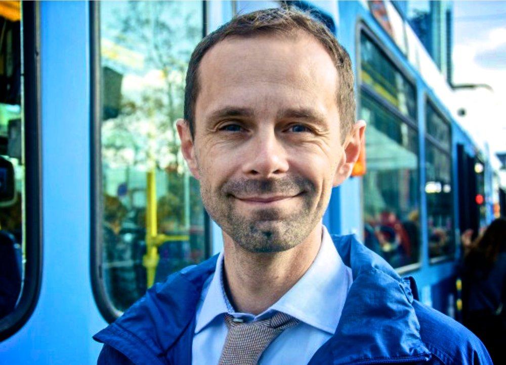 Hallstein Bjercke er Venstres hærfører mot privatbilismen i Oslo.