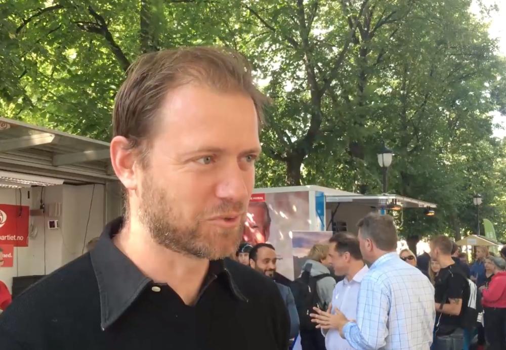Andreas Halse er en av Aps viktigste og mektigste partipolitikere i Oslo. Siste meningsmåling viser at Ap raser med 5,5 prosentpoeng.