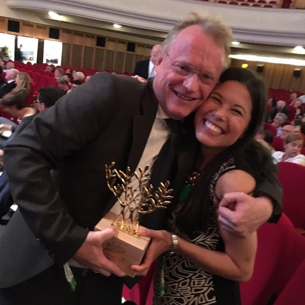 Raymond Johansen og Lan Marie Berg