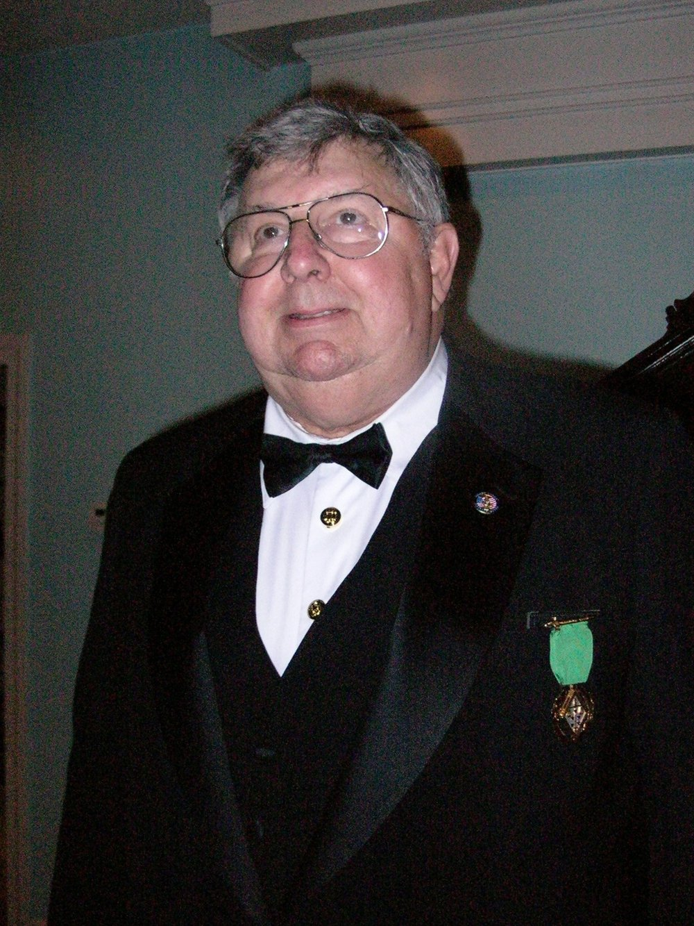 Brother David Britt Trombly, 32°, was installed as the first Sovereign Prince of Zion Council in the Valley of the Merrimack on October 9, 2003. Freemasons Hall, Haverhill.