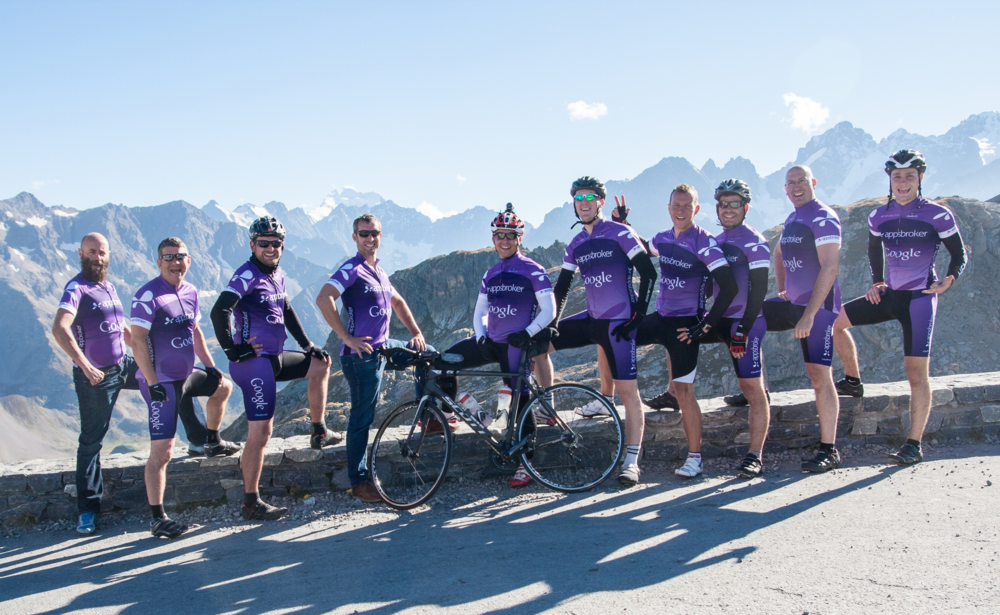 Annual cycling trip to the Alps - just one of the great things we get up to at Appsbroker!