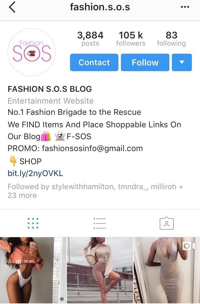 Instagram: Fashion.S.o.s