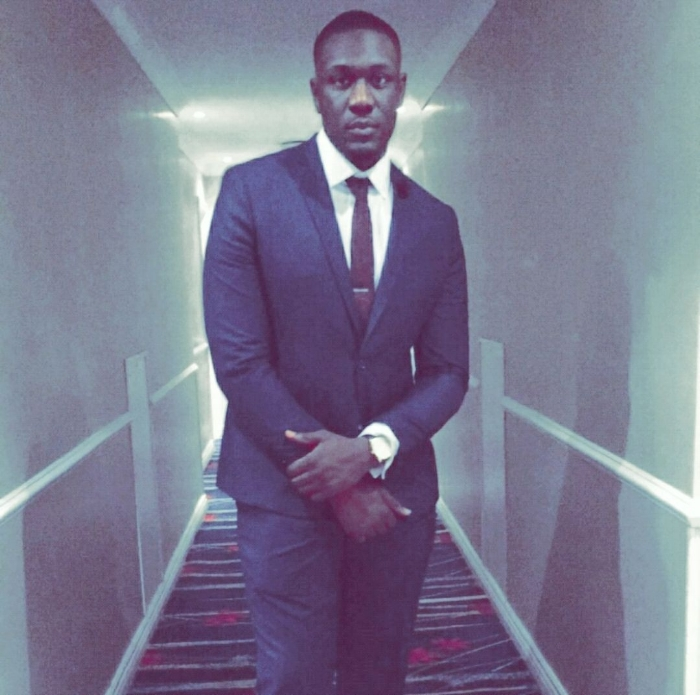 Photo: Deji, co-founder of ANT Recruitment