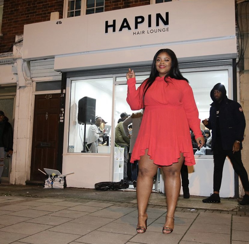 Gina Nipah - ENTREPRENEURGina opened the Hapin Hair Lounge Dec 2017 in Camberwell and since its opening, has gained traction and grown as a business in the last year. The Hapin Hair Lounge specialises in natural hair treatments, braids, weaves, you name it, they do it! Gina, alongside her business partner Andria, has hosted 'HAIR ED' masterclasses in Ghana, of which gained a lot of traction within the nation. Gina is also a plus-size stylist and shares her flawless style on her Instagram.
