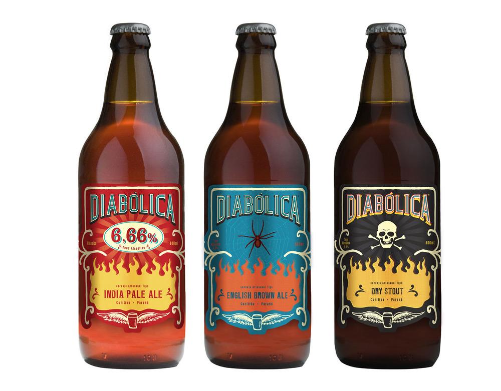 Cerveja Artesanal Diabólica