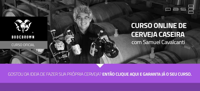 Curso Online de Cerveja Caseira Paso Bodebrown