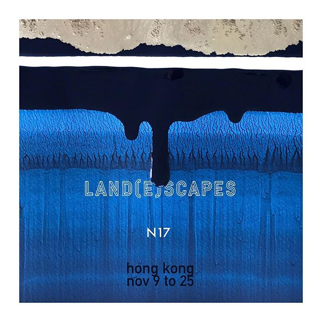 Hey Hong Kong!  my project Land(e)scapes is landing in Central from Nov 9 to Nov 25... . . . @lagaleriehk 74 Hollywood road #lagaleriehk  #hongkong #ink