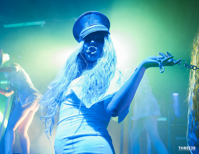 Maria Brink In Full Costume