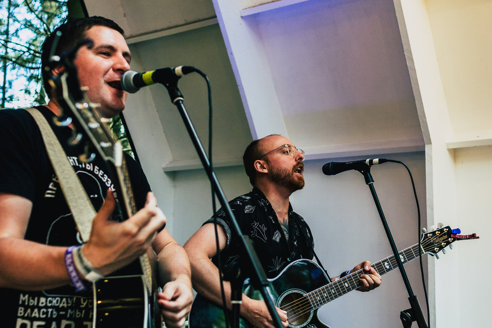 The Menzingers delighting fans with songs off their stunning album 'After the Party'