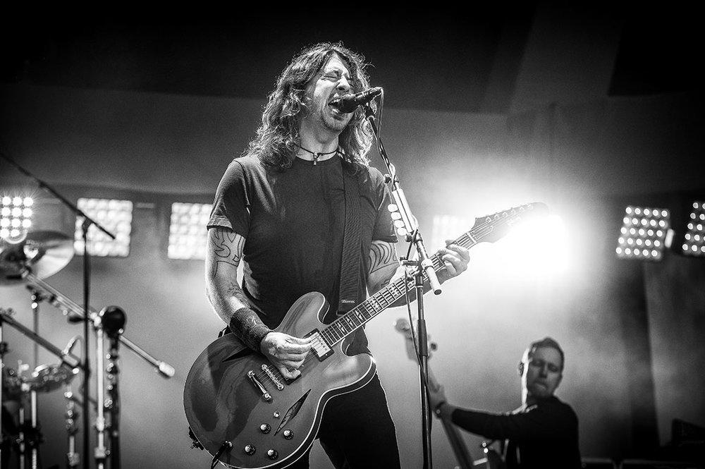 Foo Fighters Captured by Jérôme Brunet