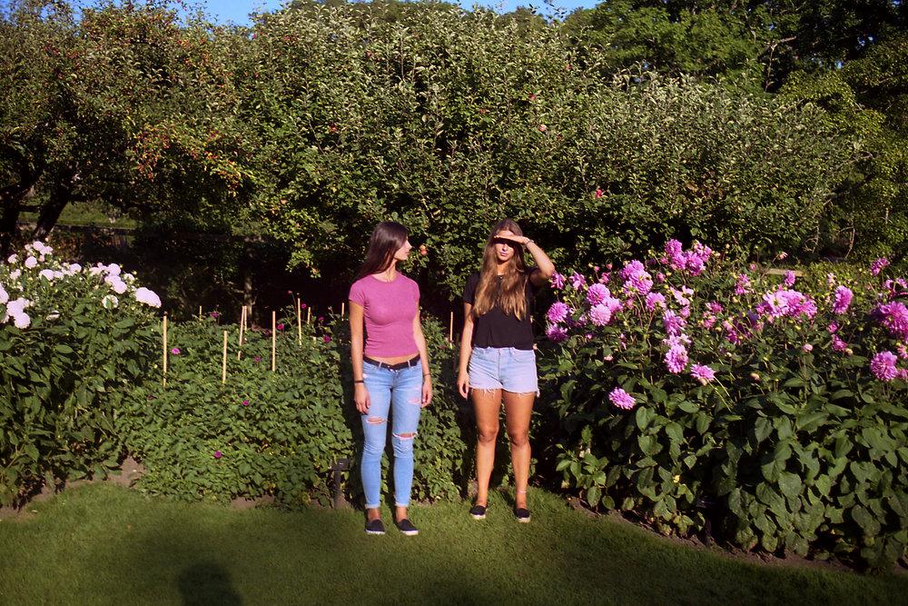 Lisa and Tijana in Sofiero