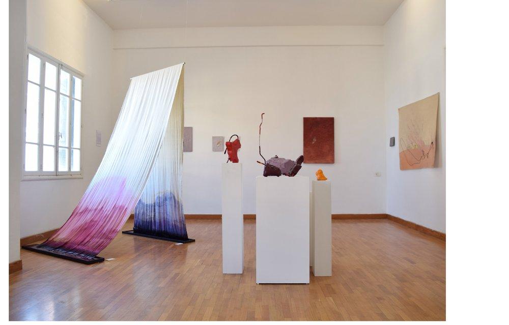 Beirut Art Residency, open studio view
